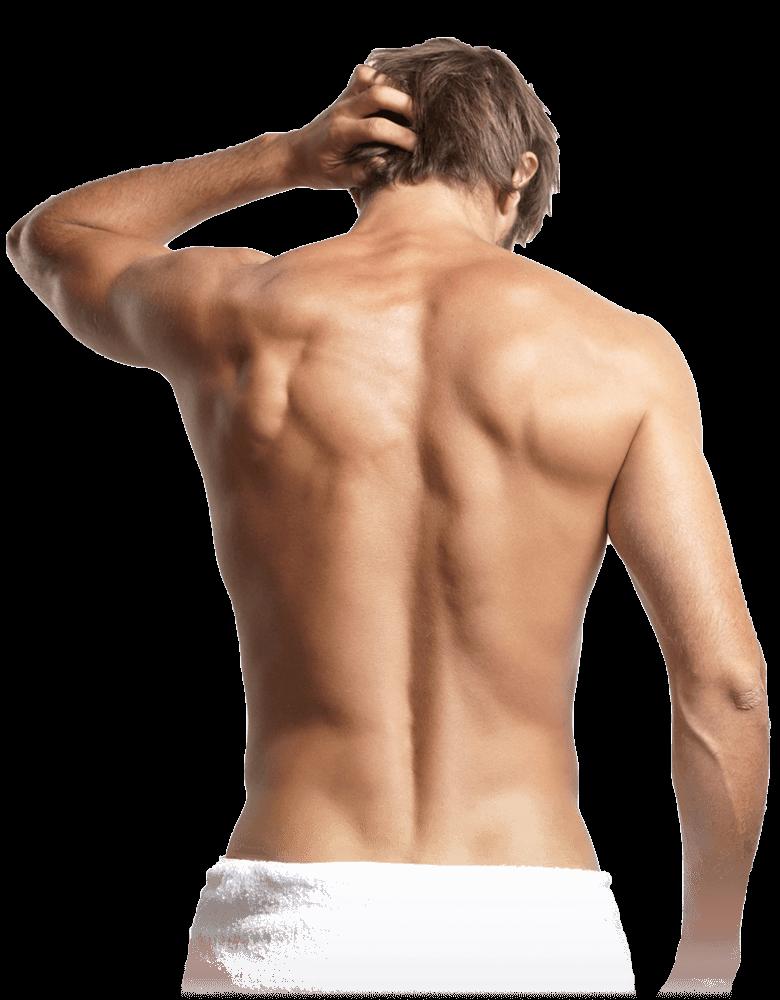 Dauerhafte Haarentfernung für Männer